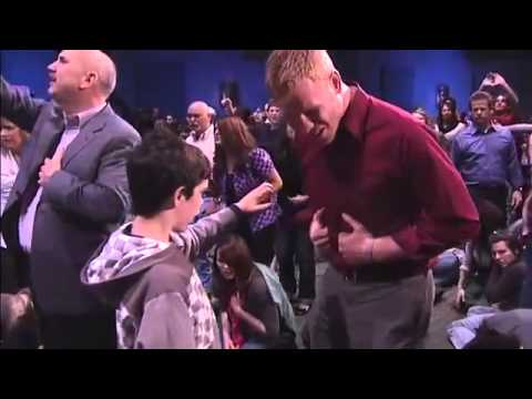 Children Flow With The Presence Of God At World Revival Church!