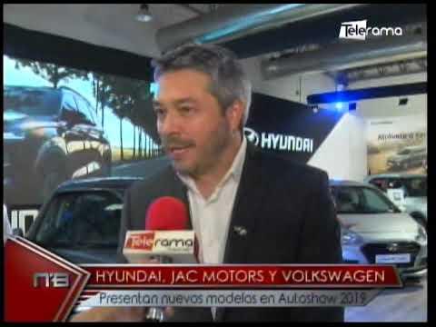 Hyundai, JAC Motors y Volkswagen presentan nuevos modelos en Autoshow 2019