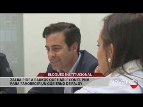 """Zalba a Barkos: """"Si tanto le preocupa, como al PP, que se apruebe el aumento de déficit pactado para Navarra, colabore para que el PNV abandone el bloqueo"""""""