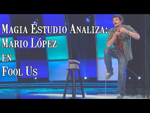 Magia Estudio Analiza: Mario López en Fool Us