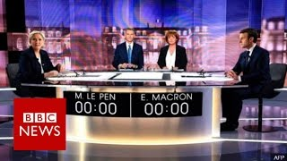 Video Le Pen and Macron clash in crucial French election debate - BBC News MP3, 3GP, MP4, WEBM, AVI, FLV Mei 2017