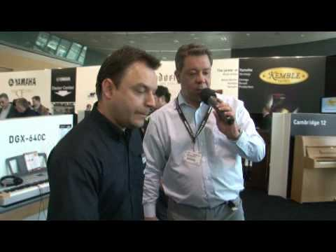 YDP V240 - Product Presentation of the Arius/YDP V240 at Musikmesse Frankfurt 2010.