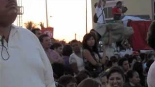 Balandra en el Palacio Municipal durante la Toma de protesta de Esthela Ponce