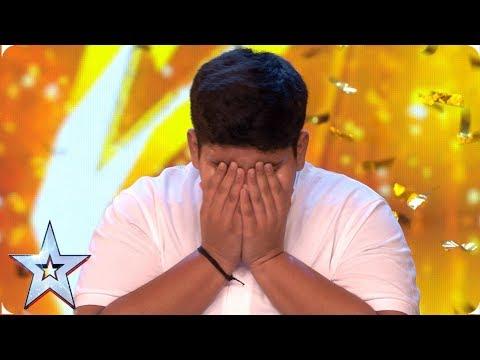 INCREDIBLE Akshat Singh dances his way to Ant & Dec's GOLDEN BUZZER   Auditions   BGT 2019