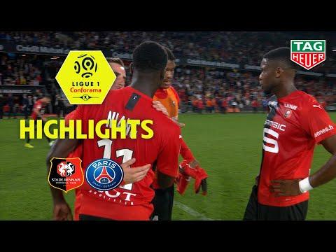 Stade Rennais FC - Paris Saint-Germain ( 2-1 ) - Highlights - (SRFC - PARIS) / 2019-20