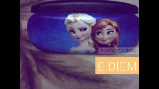 2015 hot Frozen beauty eyeglass case cool cartoon box for kid ,girls ,boys kid birthday gift
