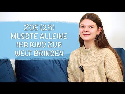 positiver Corona Test: Zoe musste unter der Geburt Maske tragen | Geburtsbericht 2020