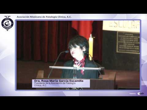 Bienvenida Ciclo Académico 2014, Educación Continua de la Dra. Rosa María García Escamilla