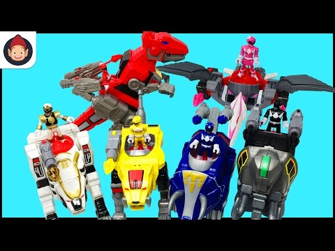 Imaginext Power Rangers Zords Toys Command Center Red Ranger White Ranger Black Ranger Blue Ranger