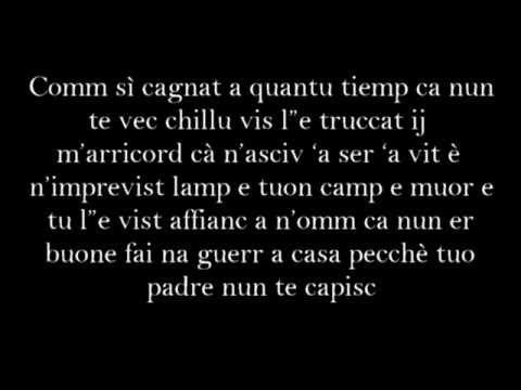 """, title : 'Franco Ricciardi Ft. Rocco Hunt """"Treno luntane"""" #Testo'"""