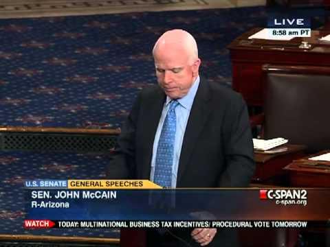 Senator John McCain Defends Huma Abedin