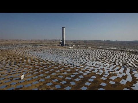 Ισραήλ: Υπό κατασκευή ο μεγαλύτερος ηλιακός-θερμικός πύργος του κόσμου