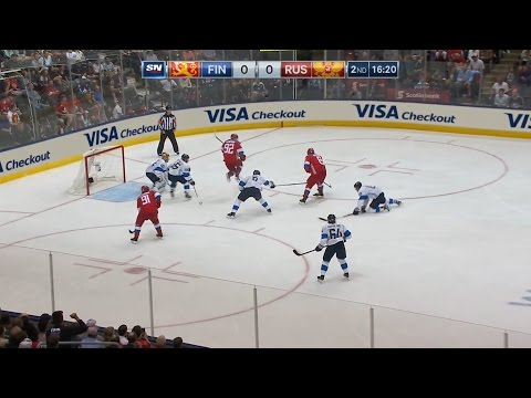 Кубок мира 2016. Россия - Финляндия | WCH 2016. Finland - Russia. 22.09.16 (видео)