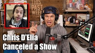 Theo Von Reacts to Chris D'Elia Canceling a Show