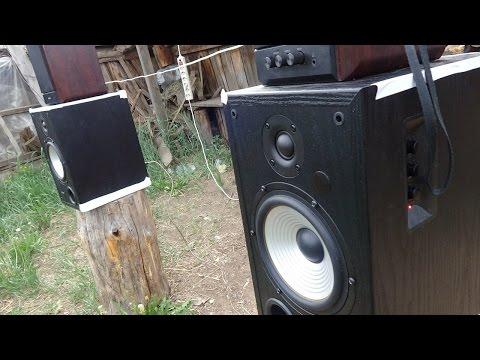 Edifer R2600 + Sven sps-704   Обе Две - Кензо (видео)