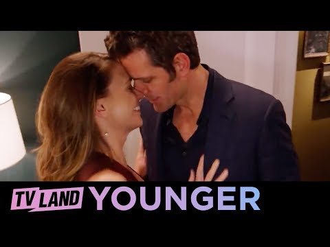 'Liza & Charles' Love Scene' Ep. 8 BTS | Younger (Season 5) Insider | TV Land