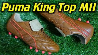 Laces Italy  city images : Made In Italy Puma King Top Naturale (Brown/Red Blast) - Review + On Feet