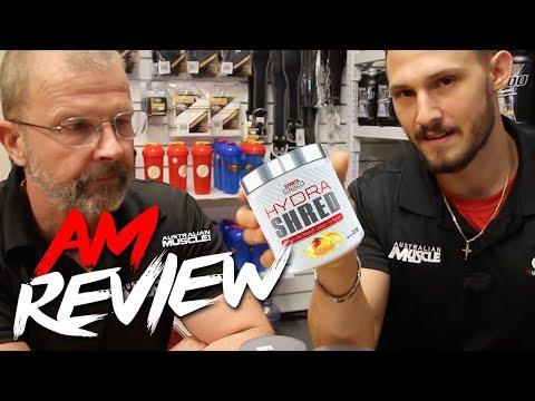 Sparta Nutrition Hydra Shred Fat Burner - AM Review!