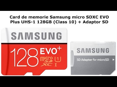 Prezentare Card de memorie Samsung microSDXC EVO Plus UHS-1 (Class 10) + Adaptor SD