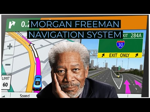 Morgan Freeman Gives GPS Directions