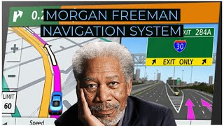 Hilarious Morgan Freeman GPS Commercial