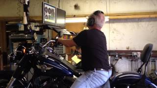 9. 2012 HD FLSTFB (Softail Fat Boy Lo/Special) Dyno Run, Williams Carburetors