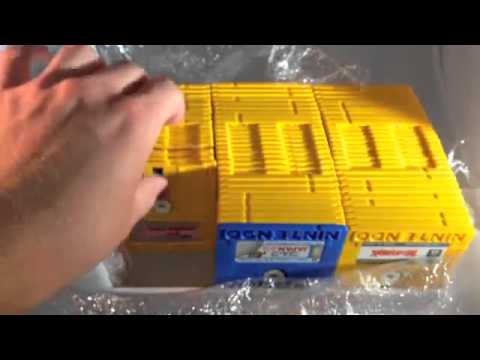 Unboxing Lot of Nintendo Famicom Disk System Games