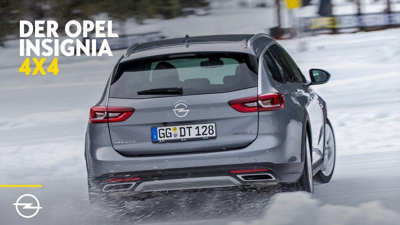 Der neue Opel Insignia: 4x4 Allradantrieb | Im Schnee zuhause