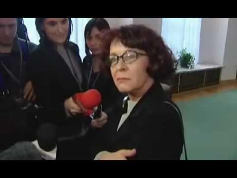 Pijana Elżbieta Kruk w sejmie