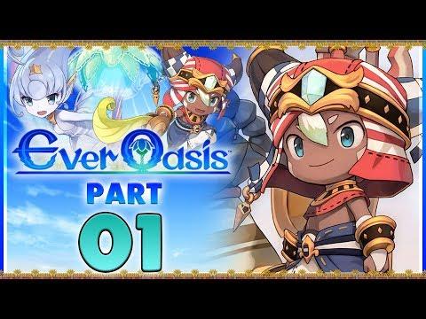 Ever Oasis - Part 1 | Our Desert Adventure Begins! [New Nintendo 3DS Gameplay]