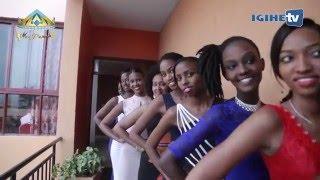 Kigali Rwanda  City new picture : Miss Rwanda 2016: Hatowe abakobwa 9 bazahagararira Umujyi wa Kigali (23/01/2016)