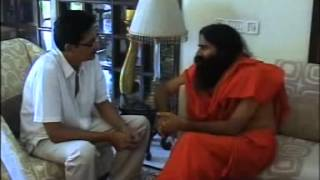 Pt Anurag Sharma & Baba Ramdev in discussion