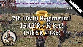 In this video I attend the 7th 10v10 regimental tournament with the 15thYR. You will see our match v 18e and K-KA in this video. Music From; https://www.yout...