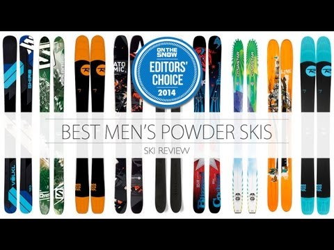 2014 Editor Choice Powder Ski for Men