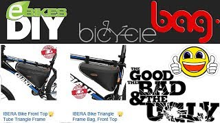 This is a short video review of the IBERA Triangle Frame BagI am going to be testing this BAG for my new FAT eBike Project, more to come soon...Thanks for watching