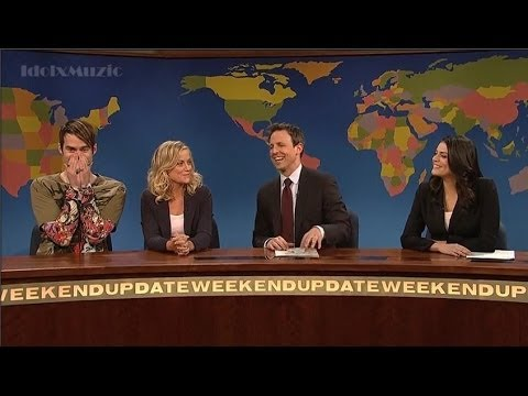 Seth Meyers Farewell – SNL With Stefon, Amy Poehler, Andy Samberg – Weekend Update