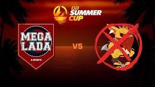 MEGA-LADA E-sports против NoBountyHunter, Первая карта, BTS Summer Cup