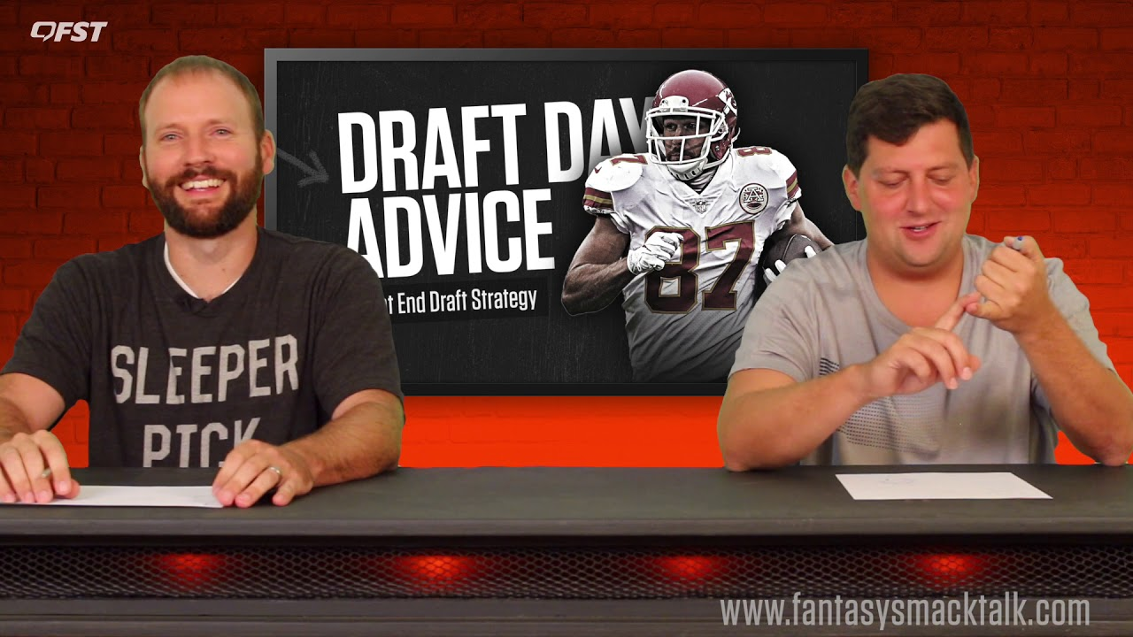 2019 Fantasy Football Tight End TE Draft Strategy thumbnail