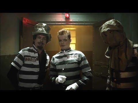 Jerome, Mad Hatter & Scarecrow escape Arkham Asylum! | Gotham | S04 E16