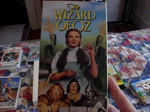 The Wizard Of Oz: Blu-Ray, DVD & VHS Collection (July 2016)