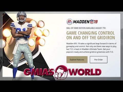 WHAT DO YOU THINK ABOUT TERRELL OWENS BEING ON THE COVER OF MADDEN 19? WEEKEND LEAGUE HIGHLIGHTS (видео)