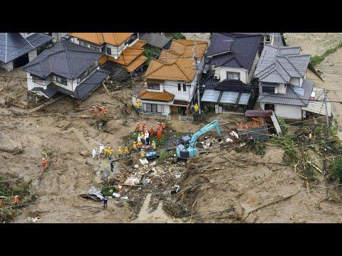 Japan: Dutzende Tote bei Erdrutschen und Überschwem ...