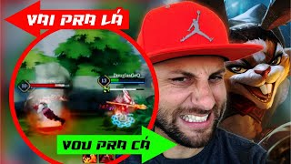 Slimz Dibraldinho no Arena Of Valor! Ranked SoloQ Depressão by Pokémon GO Gameplay