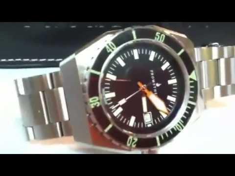 Swiss Made 300m Diver Watch Sapphire Bezel ETA 2824-2 Automatic Movement Prometheus Trireme