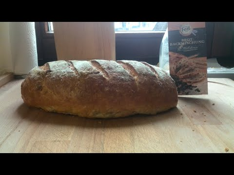 Backmischungen im Test: Mein Fest Brotbackmischung mit Kürbiskerne von Penny