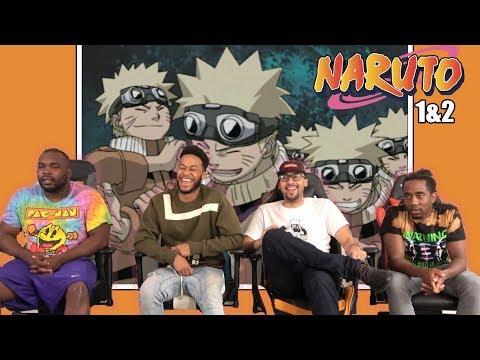 Naruto Episodes 1 & 2 REACTION/REVIEW