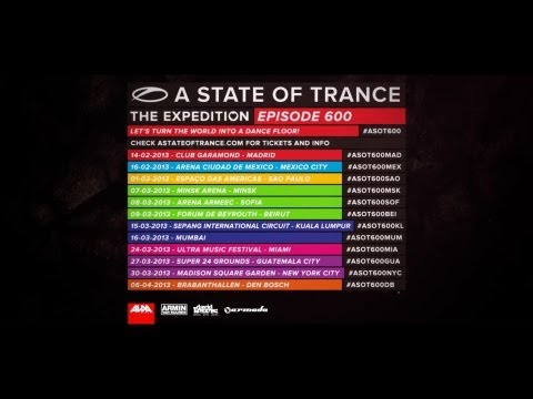 New A State of Trance 600 trailer online!
