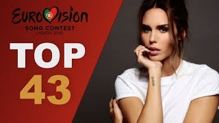 Video Eurovision 2018: Final top 43 songs (W/ comments) MP3, 3GP, MP4, WEBM, AVI, FLV Maret 2018