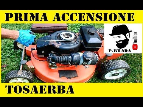 Come fare la prima accensione Tosaerba a scoppio by Paolo Brada DIY
