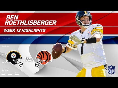 Video: Ben Roethlisberger's 17-Pt Comeback Win vs. Cincy! | Steelers vs. Bengals | Wk 13 Player Highlights